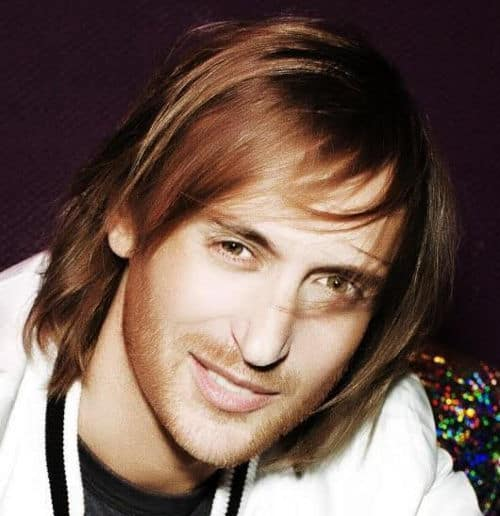 Photo of David Guetta hair.