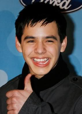 David Archuleta short haircut
