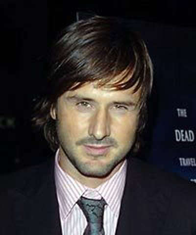 David Arquette crop hairstyle