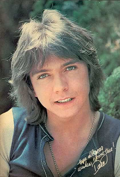 David Cassidy Shaggy Haircuts