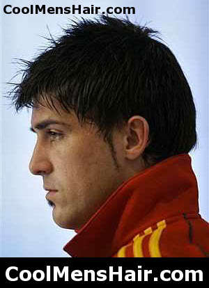 Picture of David Villa hairstyle
