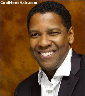 Image of Denzel Washington hairstyle.