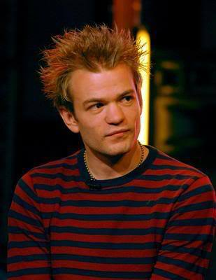 Deryck Whibley's cool punk haircut