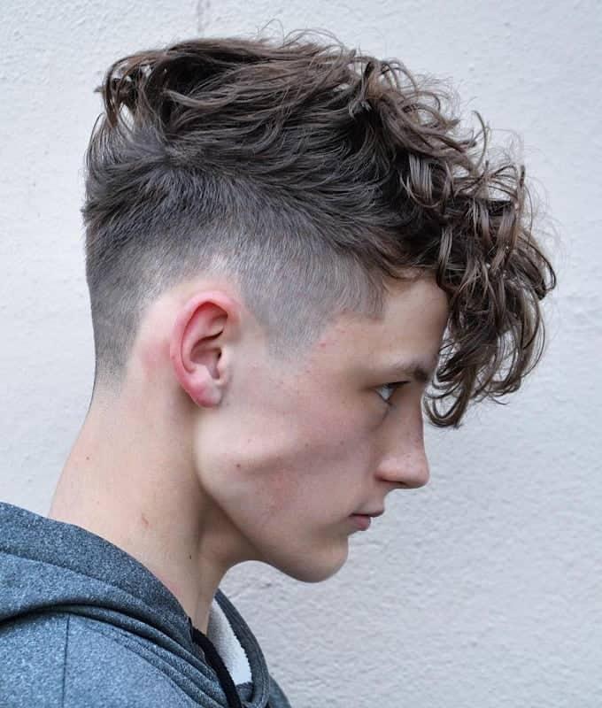 curly devilock hair