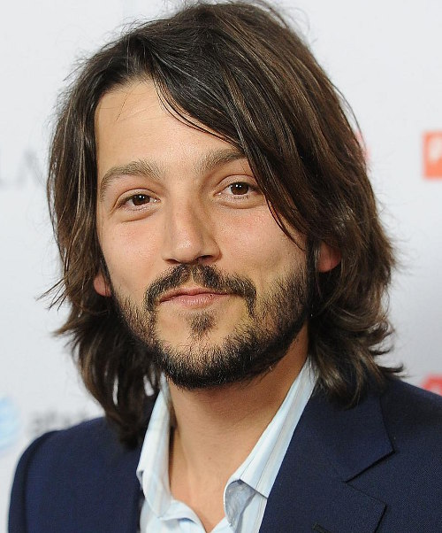 Diego Luna Latino Hairstyle