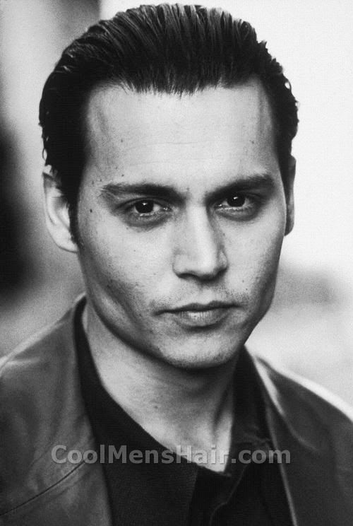 Photo of Donnie Brasco hairstyle.