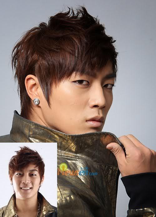 Doo Joon hairstyle.