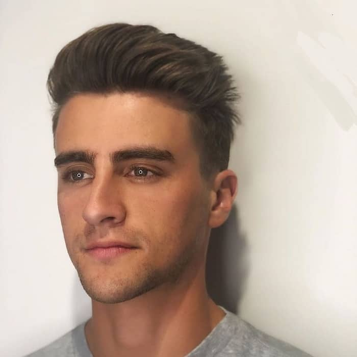 dope haircut for white guy