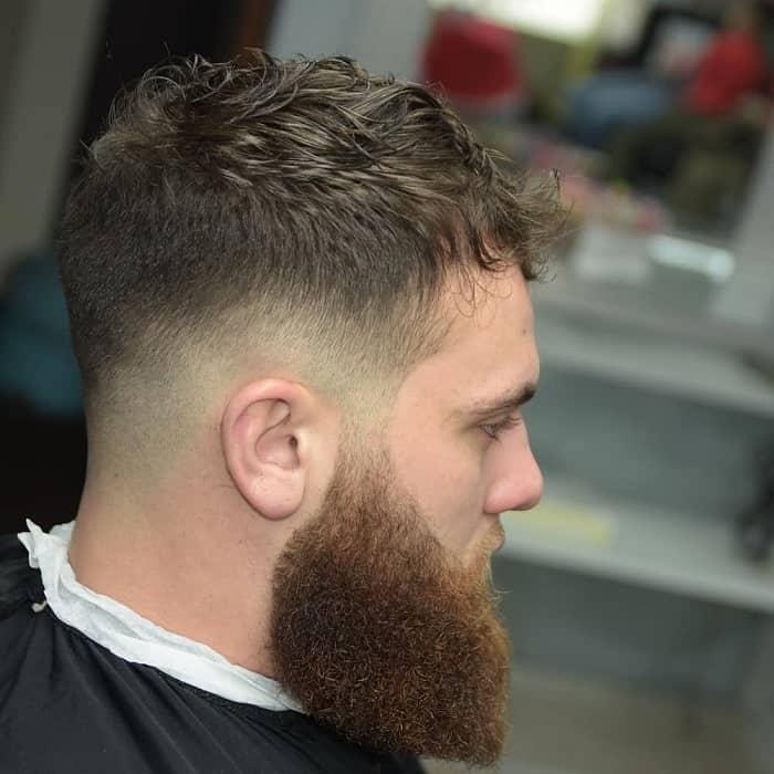 Dope Haircut with Beard