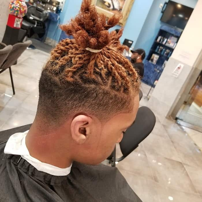 Tapered Dope Haircut