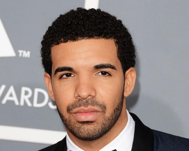 drake's curly haircut