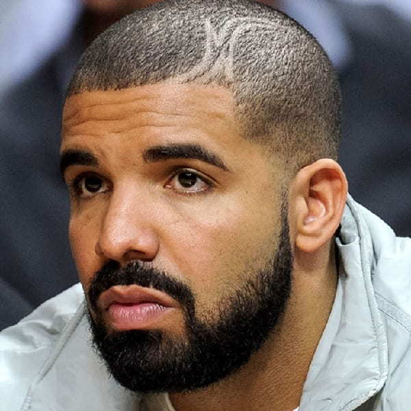 Drake Hairstyle with Design