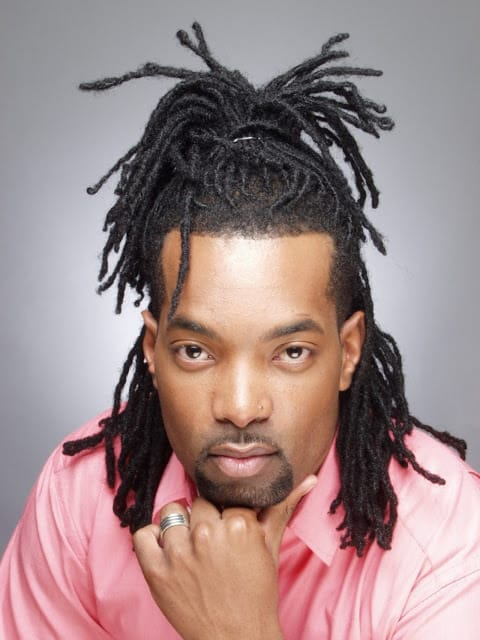 Re-twist Dreads with Half Up Do