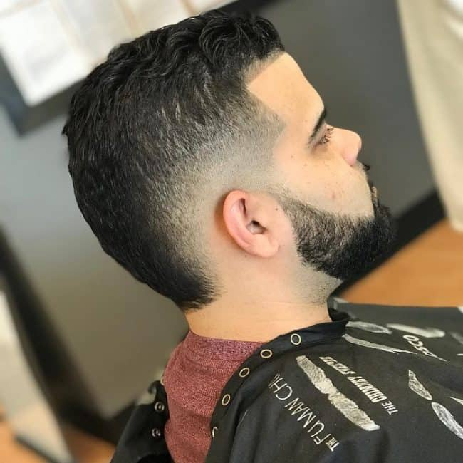mid drop fade haircuts for men