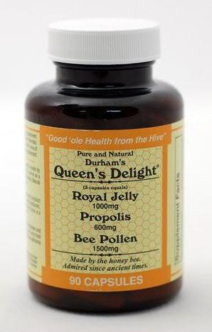 Image of Durham Queen Delight bee pollen.