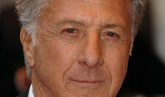 Dustin Hoffman's Gray Out-of-the-Face Hairstyle