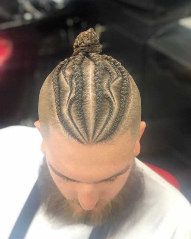 11 Engaging Hairstyles For Men With Dutch Braids 2019 Trend