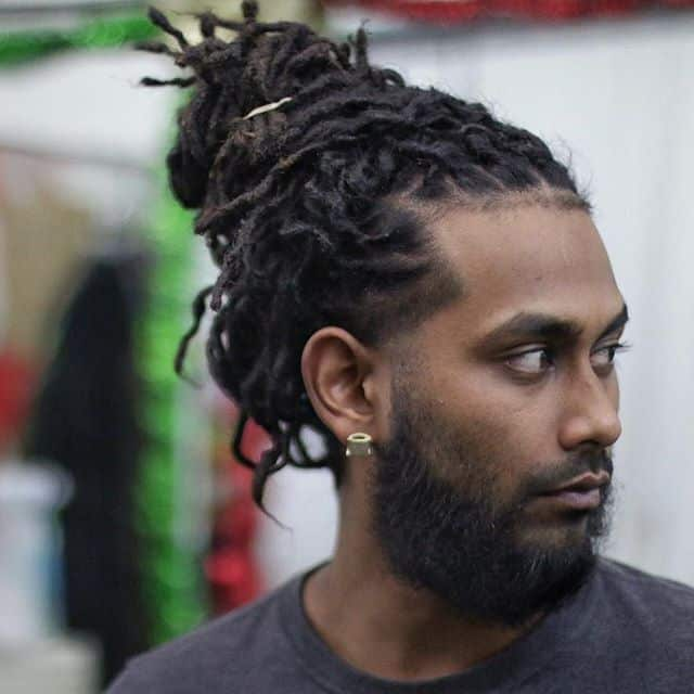 Black Man Bun 20 Hairstyles To Get Inspiration Cool Men