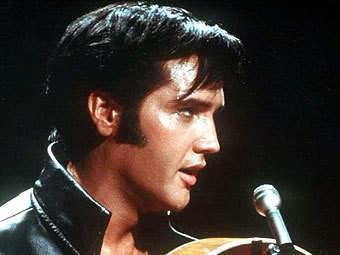 Elvis Presley's sideburns.