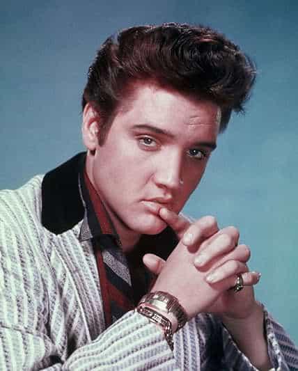 Elvis Presley rock star hairstyle
