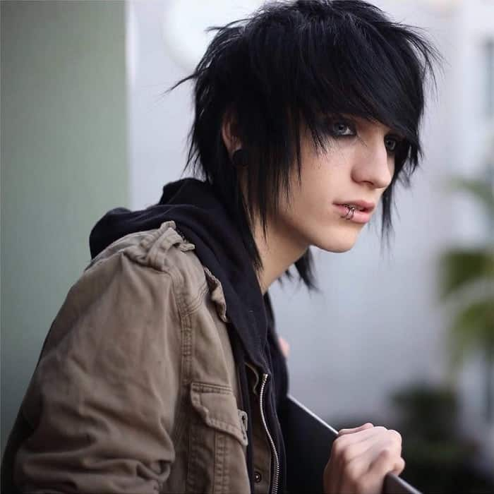 emo bangs for guys