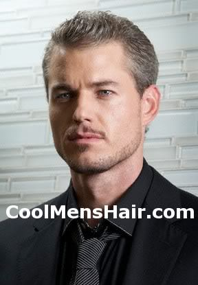 Photo of Eric Dane short hairstyle for men.