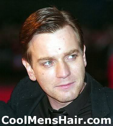 Photo of Ewan McGregor hairstyle.