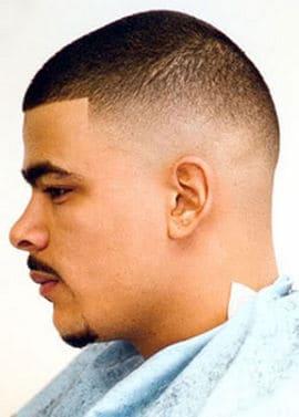 A fade haircut image