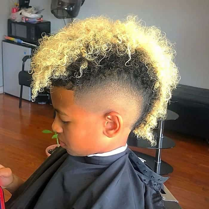 21 Amazing Fade Hairstyles For Black Boys To Try Now Cool Men S Hair