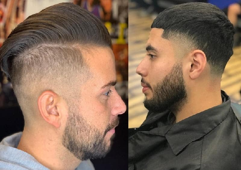 faded undercut vs. taper fade