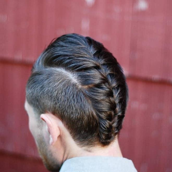 faux hawk braids for short hair