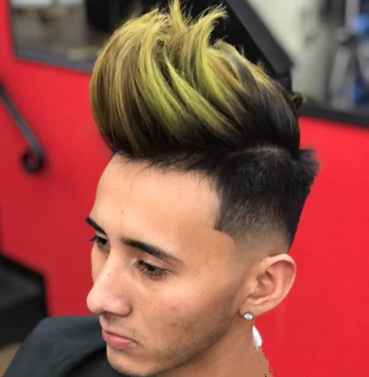 faux hawk hairstyles for boys