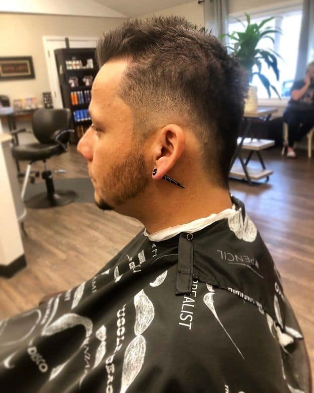5 of The Coolest Faux Hawk Taper Haircuts – Cool Men's Hair