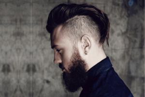short fauxhawk hairstyle for men
