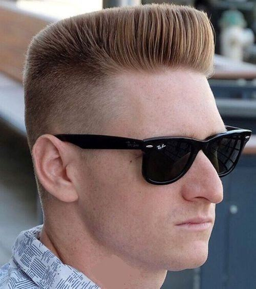 flat top fade haircuts for men