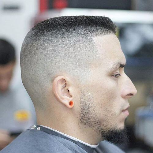 mini flat top fade haircut