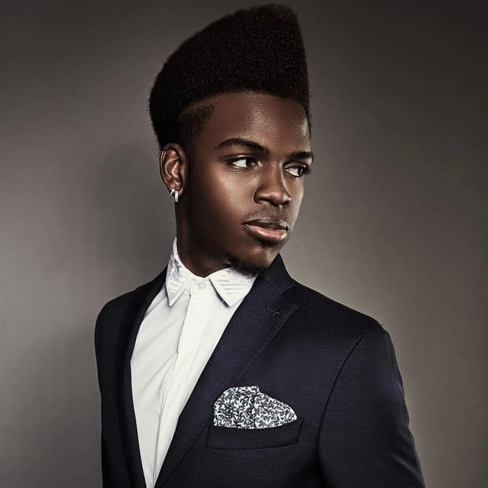 best flat top haircuts for black guys