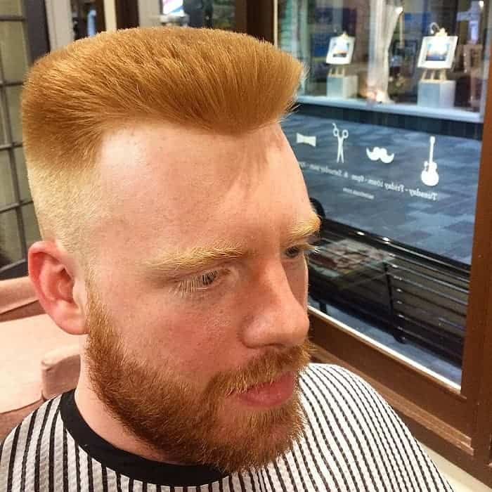 best flat top haircuts for white guys