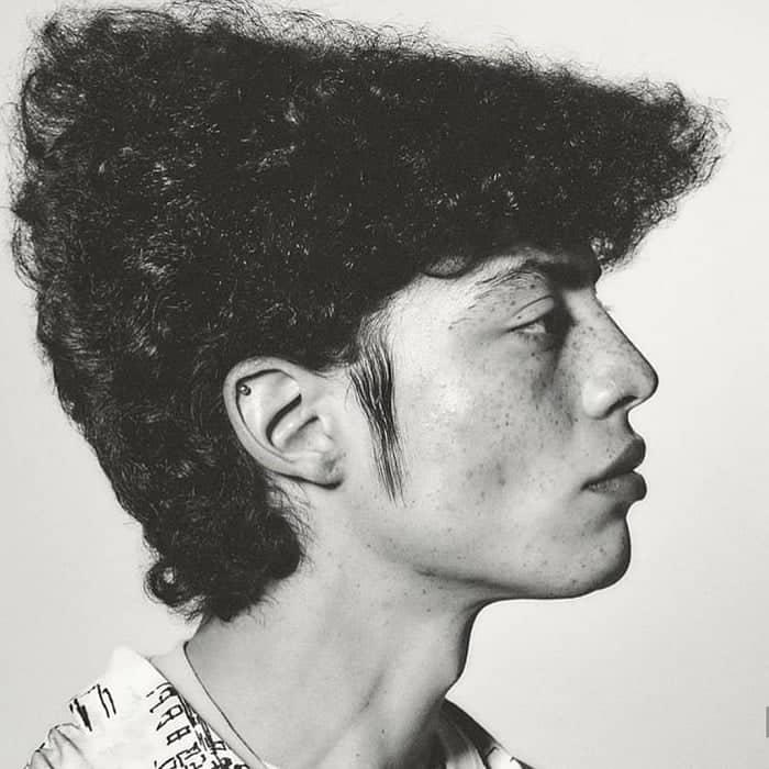 80s flat top hair inspiration