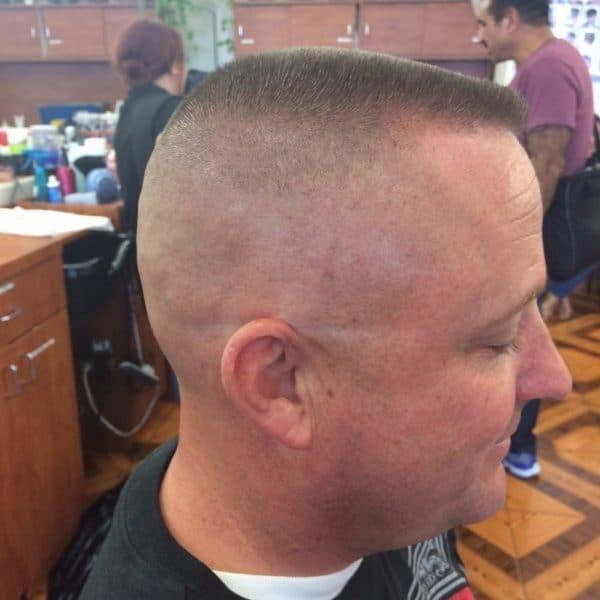 Military Haircuts Flat Top High