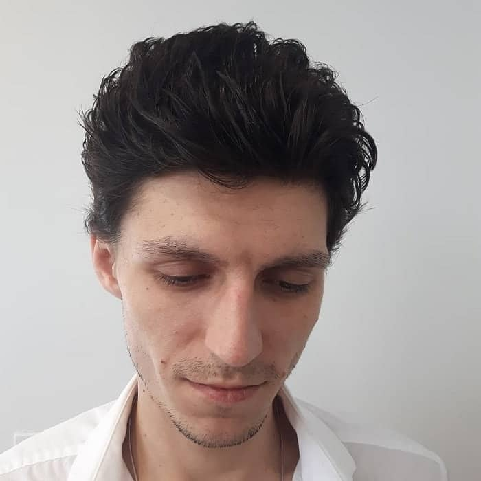 casual flow hairstyle