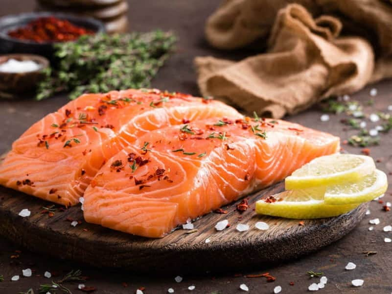salmon for growing thick hair
