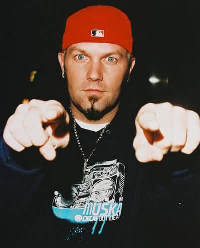 Photo of Fred Durst soul patch.