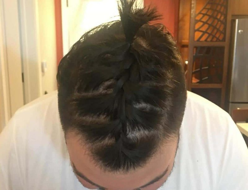 french braids for men