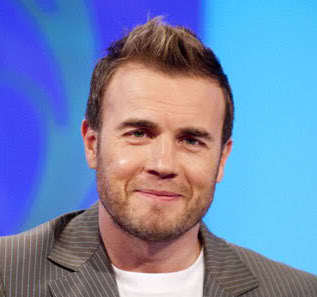 Picture of Gary Barlow hairstyle.