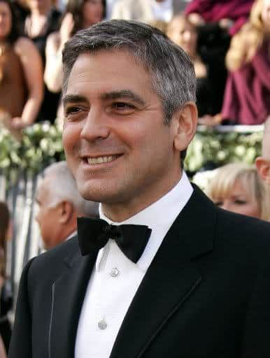 Male hairstyle from George Clooney