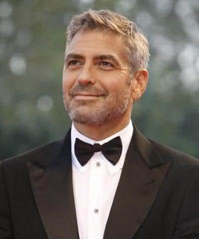 George Clooney caesar cut