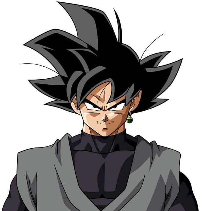 Goku black hair