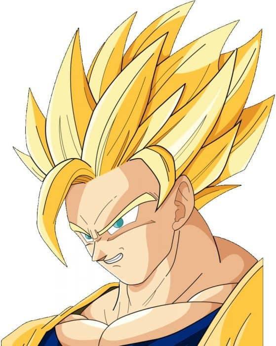 popular goku hairstyles