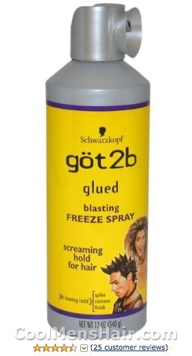 Photo of Got2b Glued Blasting Freeze Spray.